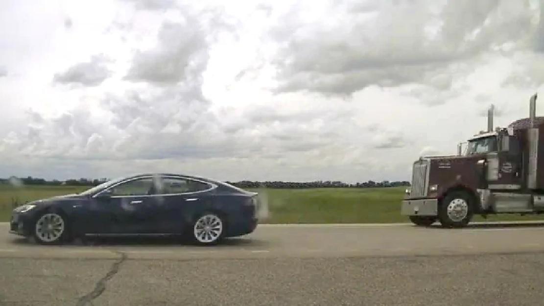 Asleep at the (semi-autonomous) wheel at 150km/h