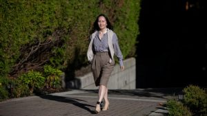 Huawei executive Meng Wanzhou back in court today to fight extradition case