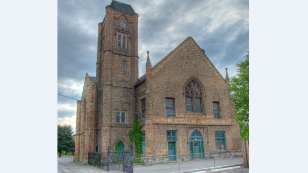 Unique town hall now a national historic site