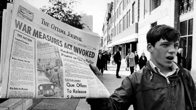 Federal apology demanded for actions in Quebec 50 years ago.