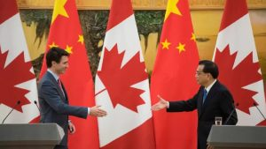 Canadians attitudes about China still declining