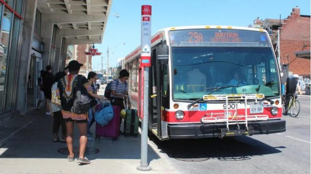 Driverless 'platooned' buses considered for Toronto