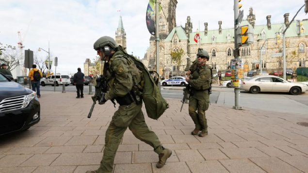 Parliament renovation will keep bullet scars from 2014 gun battle