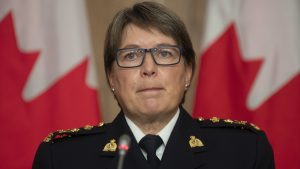RCMP chief says there's more to be done for people facing threats from abroad