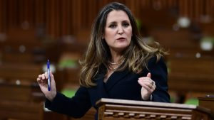 Liberals unveil $101.4B in new spending, project massive deficit in new budget