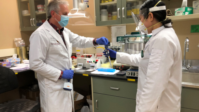 Lab able to quickly diagnose blood clots after vaccine
