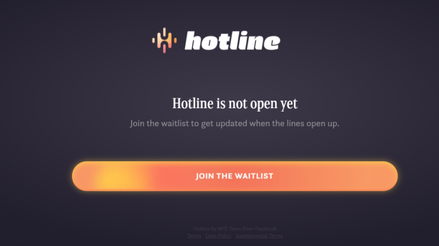 Facebook launches Q&A app Hotline, a hybrid of Clubhouse and Zoom