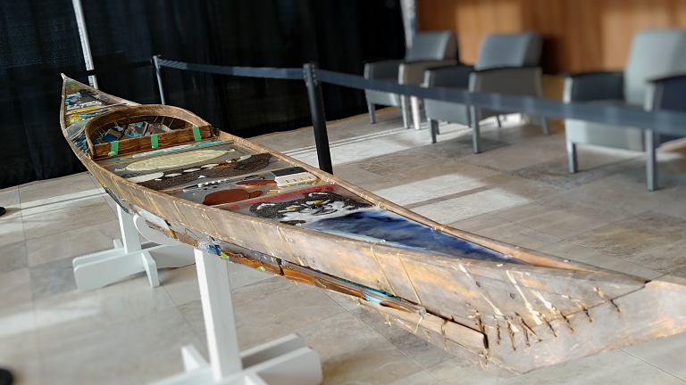 "Qajaq art installation at Ottawa Hospital ""in light of reconciliation for Inuit"" says artist"