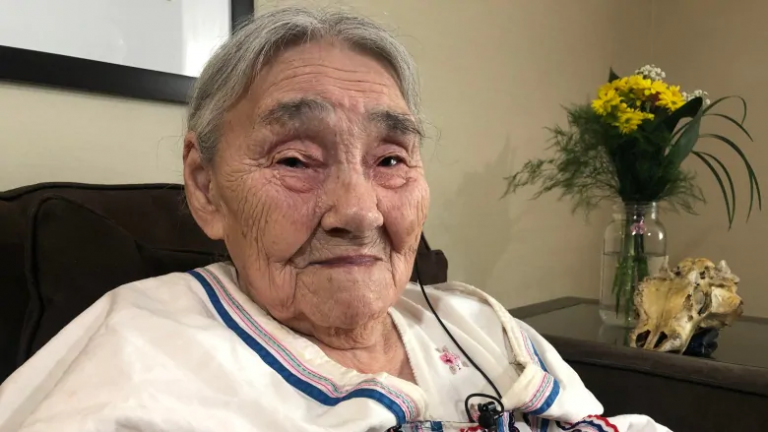 Canada honours Arctic's last known WW II bone collector