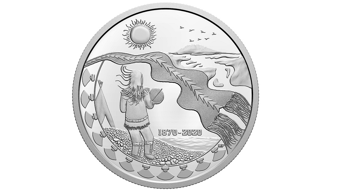 Artist from Canada's Northwest Territories designs new Royal Canadian Mint collector coin