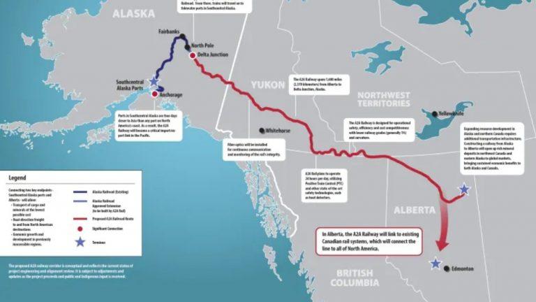 Trump to approve $22B railway between Alaska and Alberta