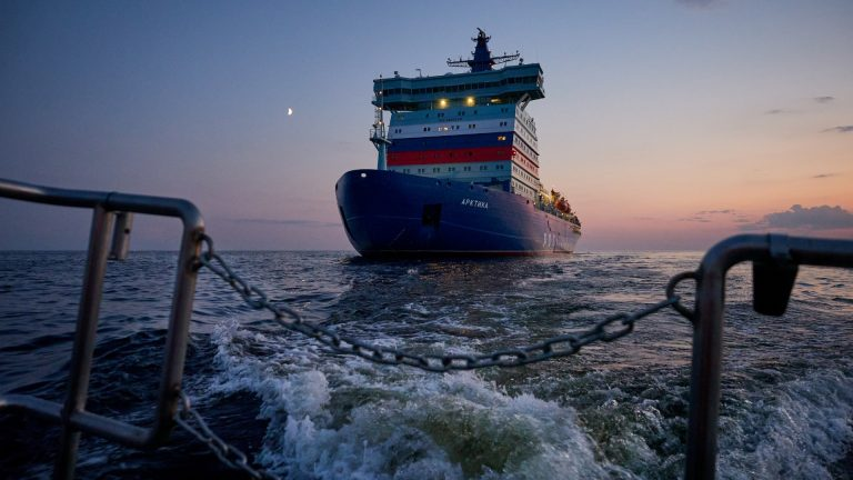 Climate change is making the Arctic more hospitable, says Russian nuclear icebreaker captain