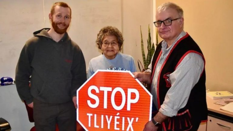New road signs to raise visibility of Tlingit language in Canada's northwestern Yukon territory