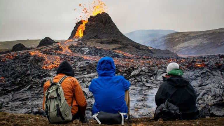Icelandic volcano could erupt for years, creating 'perfect tourist' attraction