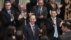 وزير المالية في كيبيك بعد تقديم الموازنة في الجمعية الوطنية - Radio Canada