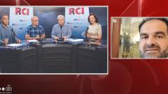 أسرة القسم العربي وضيف البرنامج البروفسور نور القادري في 18-10-2019/RCI