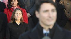 كريستسا فريلاند، نائبة رئيس الحكومة الكندية، أمس الأربعاء - Radio Canada