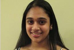 "Trisha Prabhu, creadora del proyecto ""Rethink"". Foto: Google Science Fair 2014"