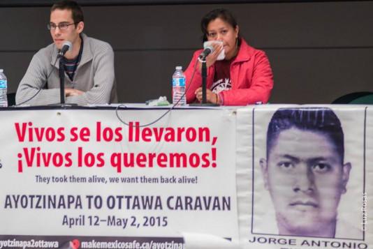 Caravana Ayotzinapa a Ottawa