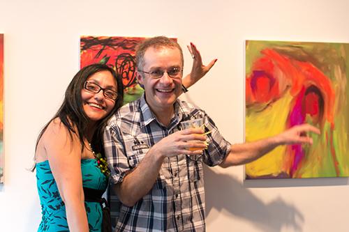 Lucila Guerrero y Daniel Jodoin, el dúo creativo del proyecto Tandem Créatif