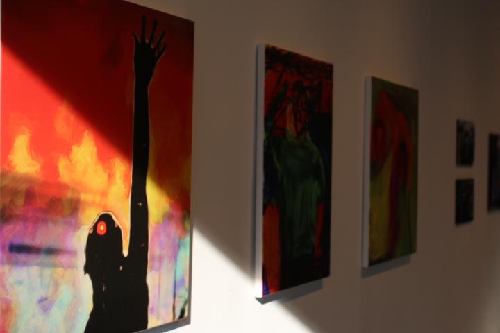 Detalle de la exposición Tandem Créatif, 2015