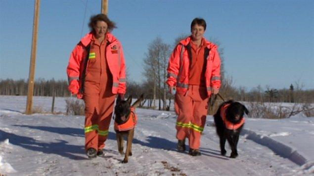 Perros de rescate de Canadá y sus entrenadores van a Filipinas