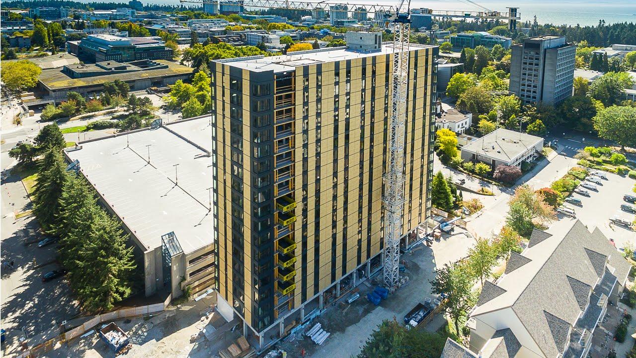 El Edificio De Madera M 225 S Alto Del Mundo Se Construy 243 En Vancouver