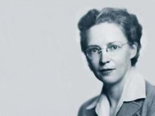 Elsie McGill (1905-1980) de Columbia Británica, en el oeste canadiense, primera canadiense en graduarse en Ingeniería Eléctrica en la Universidad de Toronto en 1927 (Foto: Banque du Canada)