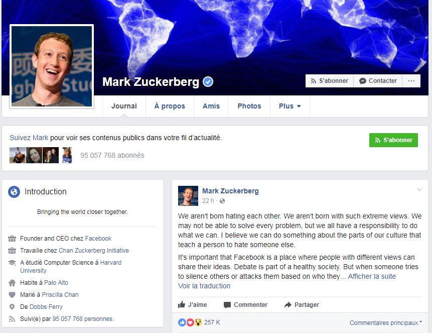 El creador de Facebook Zuckerberg dejará la plataforma por unos meses