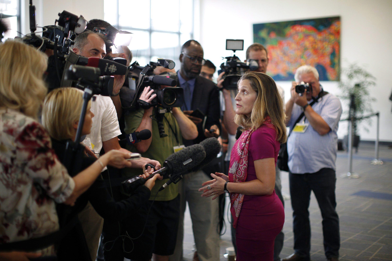 TLCAN: rumores de un avance entre EEUU y México animan a Canadá