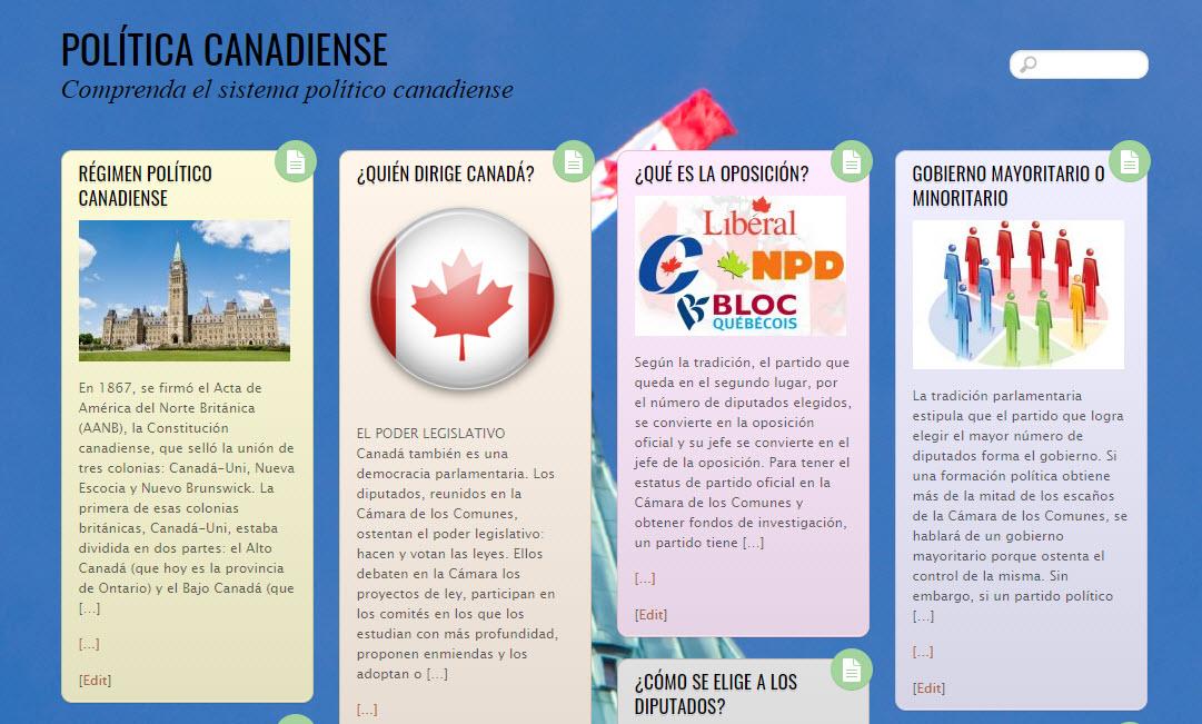 Comprenda el sistema político canadiense