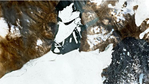 Ruptura de última gran plataforma de hielo de Groenlandia: cómo afecta a Canadá