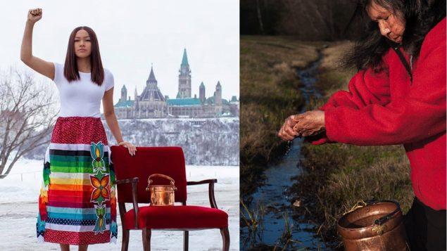 Dos generaciones, una misma misión   Josephine y Autumn, guerreras del agua