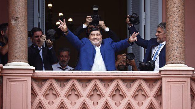 Conmoción en Canadá por muerte de Maradona