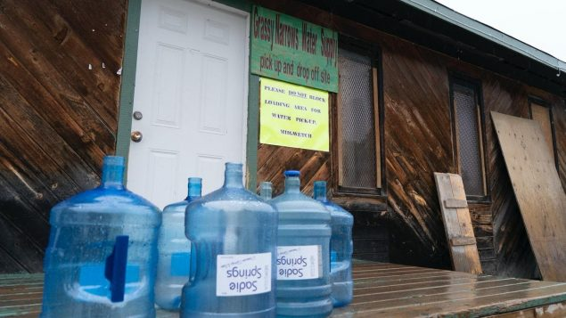 Muchas Primeras Naciones aún no tienen acceso al agua potable