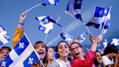 في عام 1977 ، أعلنت حكومة الحزب الكيبيكي التي كان يرأسها رينيه ليفيك، الـ24 يونيو حزيران، يوم عيد كيبيك الوطني - أرشيف -Radio Canada / Maxime Corneau