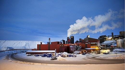 Kiruna in the north of Sweden. Photo: Maja Suslin / SCANPIX/Radio Sweden