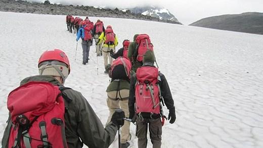 Mount Kebnekaise, Sweden's highest mountain. (Peter Sundberg / Sveriges Radio)
