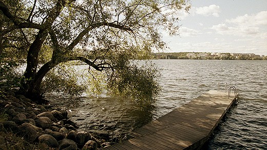 Lake Mälaren's water levels are expected to rise. Photo: Erik G Svensson /Scanpix. Radio Sweden.