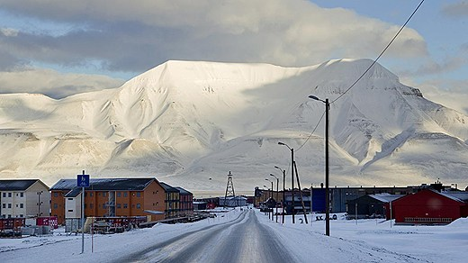 The Nordic environmental minsiters met at Svalbard in the northern most part of Norway. Photo: BertiRoald/Scanpix