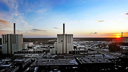 Much of Sweden's electricity comes from nuclear. Source: SVT, Radio Sweden
