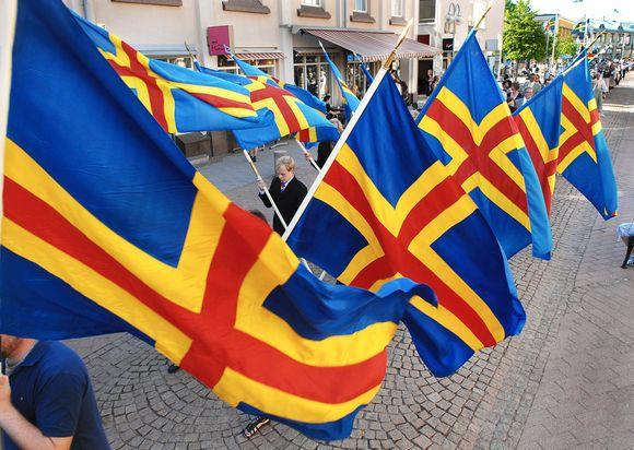 The autonomous Åland region is predominantly Swedish-speaking. Image: Str / Lehtikuva