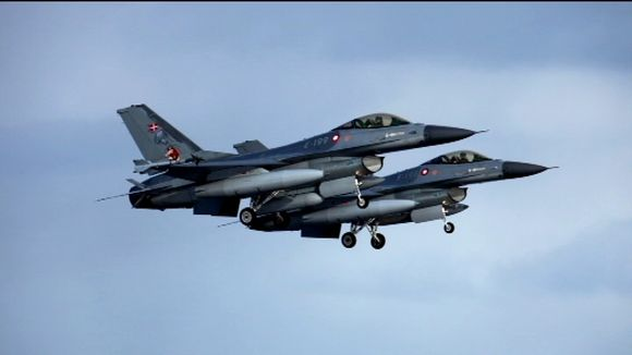 Finnish planes are to join patrols of Icelandic airspace in 2014. Image: Islannin yleisradio