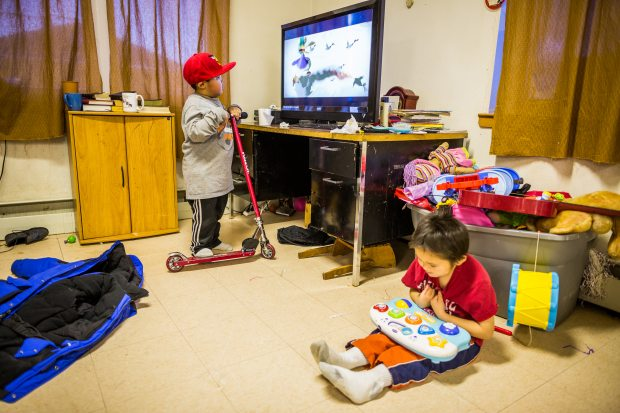 Will 230 small and isolated Alaska communities lose the free TV signal that helps connect them to the outside world? Without a technology overhaul and investment by state lawmakers, programming on Alaska Rural Communications Service could go dark in 2015. (Loren Holmes/Alaska Dispatch)