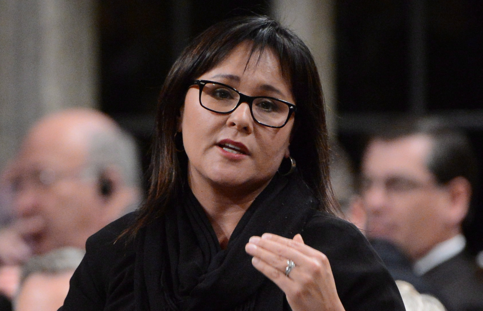 Leona Aglukkaq, the Canadian MP for Nunavut and Minister of Health, has been named the Chair of Arctic Council for Canada's upcoming chairmanship in 2013. Photo: Sean Kilpatrick, The Canadian Press