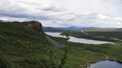 The area of Kilpisjärvi was inhabited as early as during the Stone Age.  Image: Riikka Juutinen