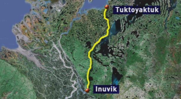 e all-weather road will stretch 140 kilometres. (CBC)