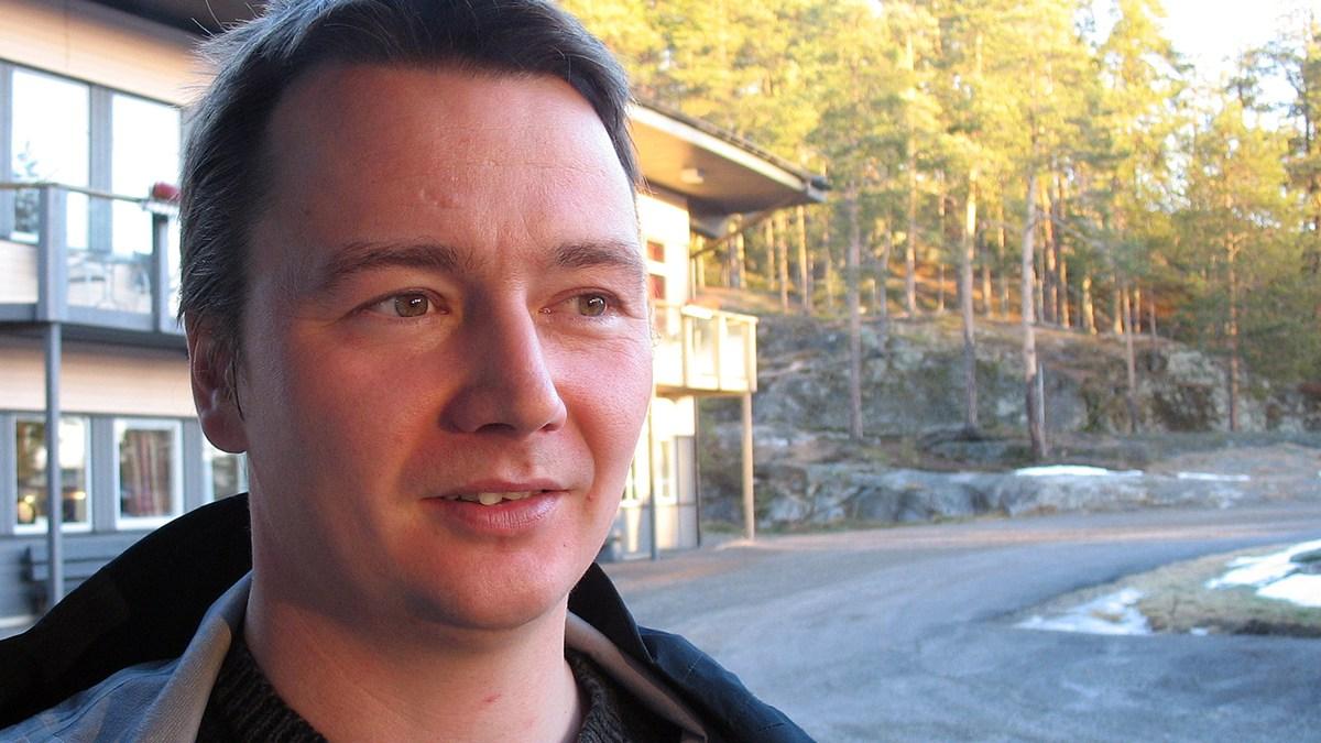 Tobias Jonsson, president of the rendeer herders community of Gran. Photo: David Rydenfalk, SR Sami Radio.