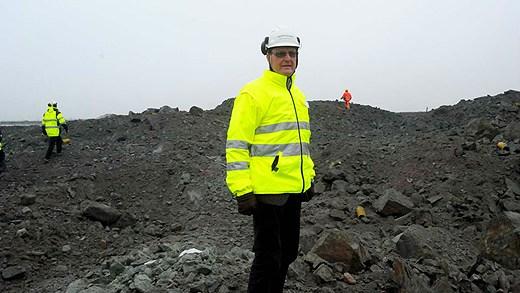 Karl-Axel Waplan, Northland Resources CEO. Photo: Alf Lindbergh. Radio Sweden.