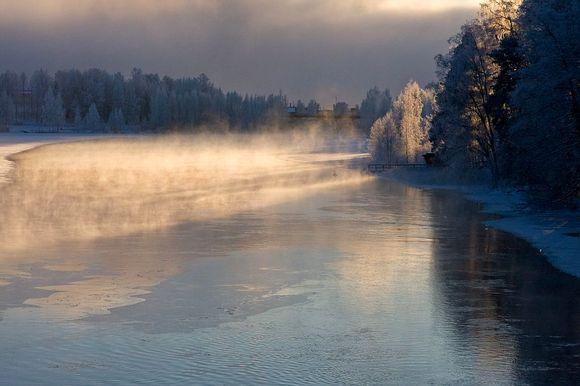 Finland heads into Independence Day in bitterly cold conditions. Image: Väinö Kautto, Äänekoski.